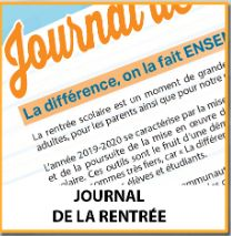 Journal de la rentrée